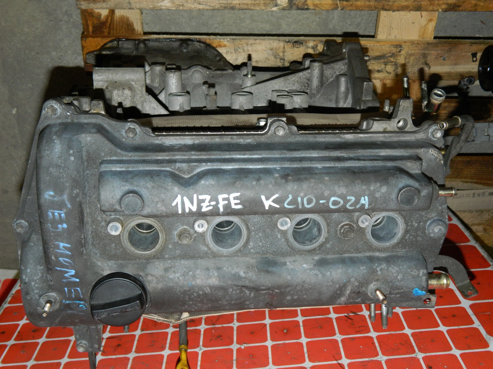 Двигатель Toyota Sienta NCP81 1NZ-FE (б/у)