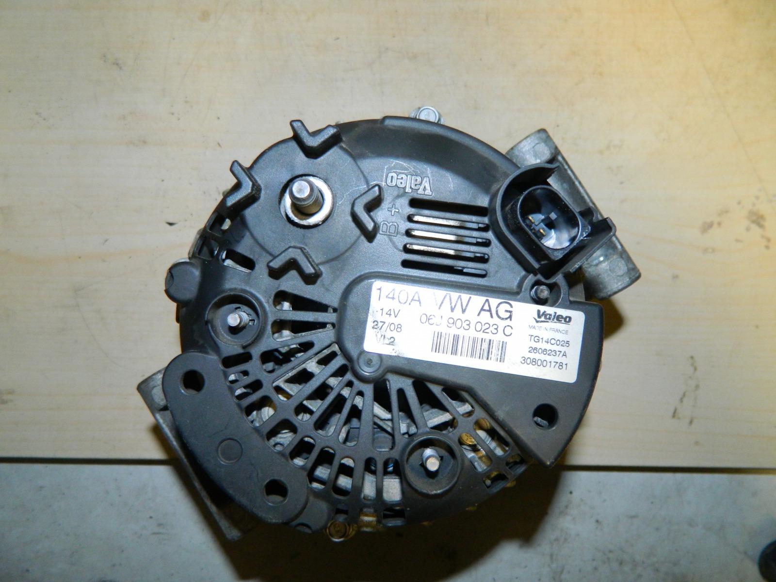 Генератор Volkswagen Tiguan CAW 2008 (б/у)