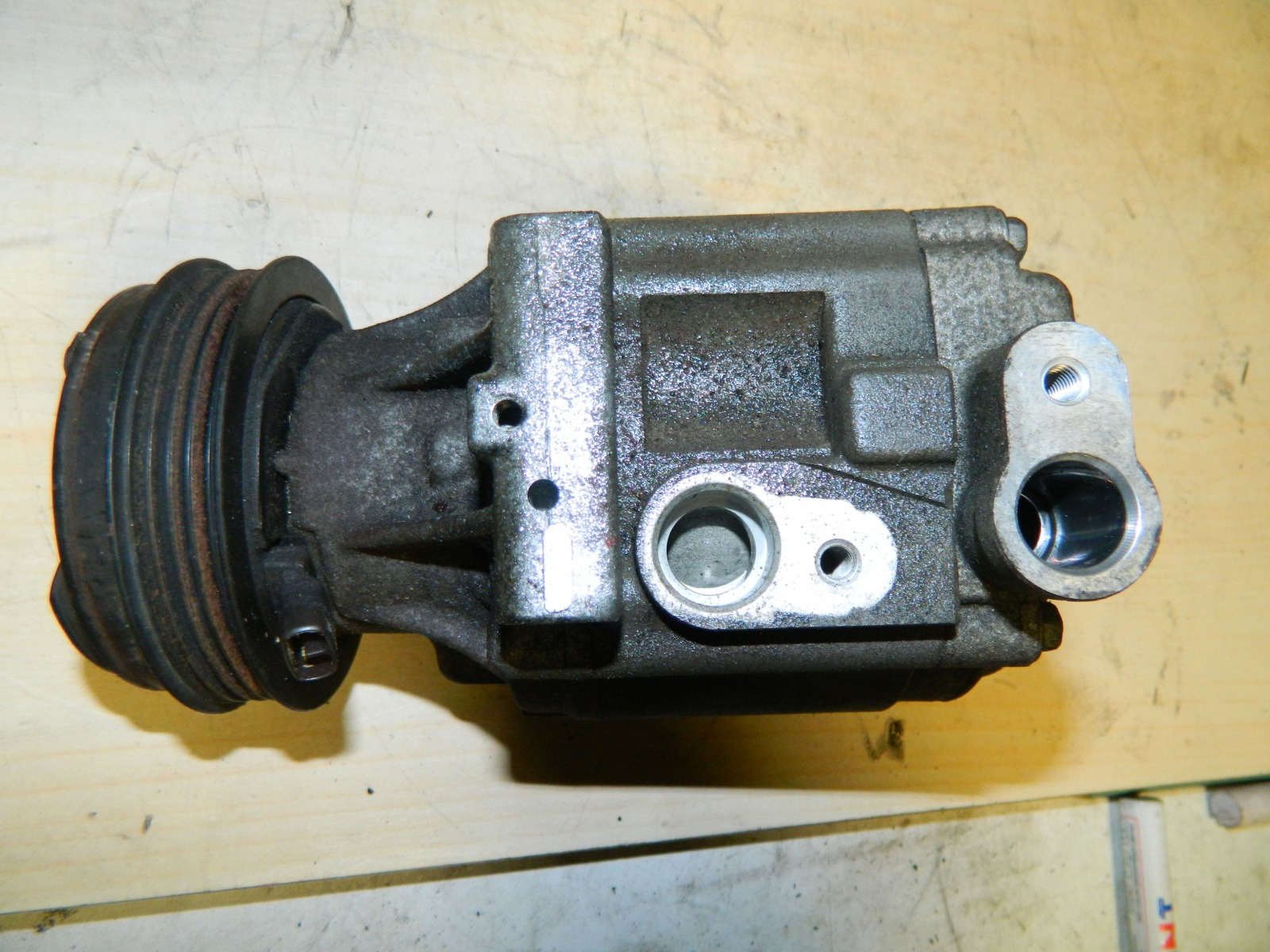 Компрессор кондиционера Subaru Legacy BP5 EJ20X (б/у)