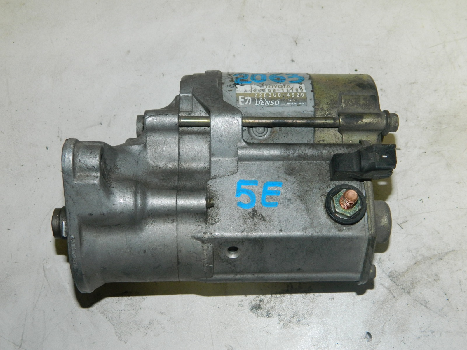 Стартер Toyota Caldina ET196 5EFE (б/у)