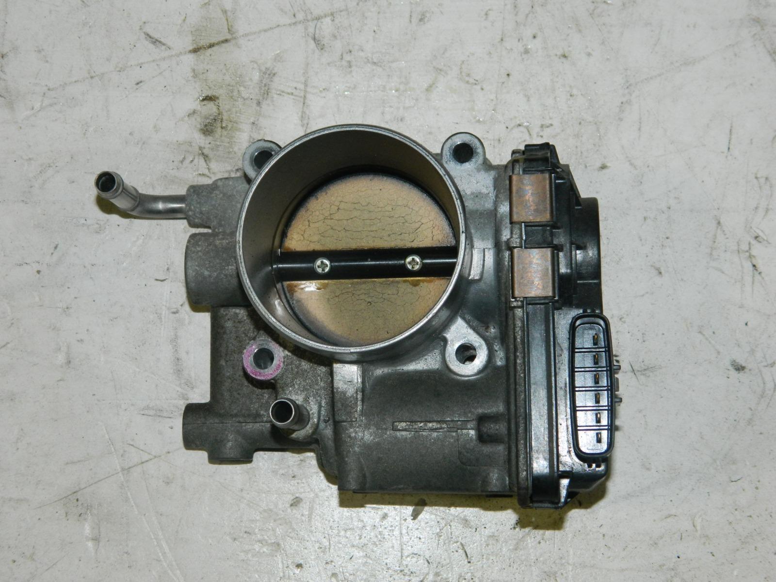 Дроссельная заслонка Subaru Legacy BP5 EJ20X (б/у)