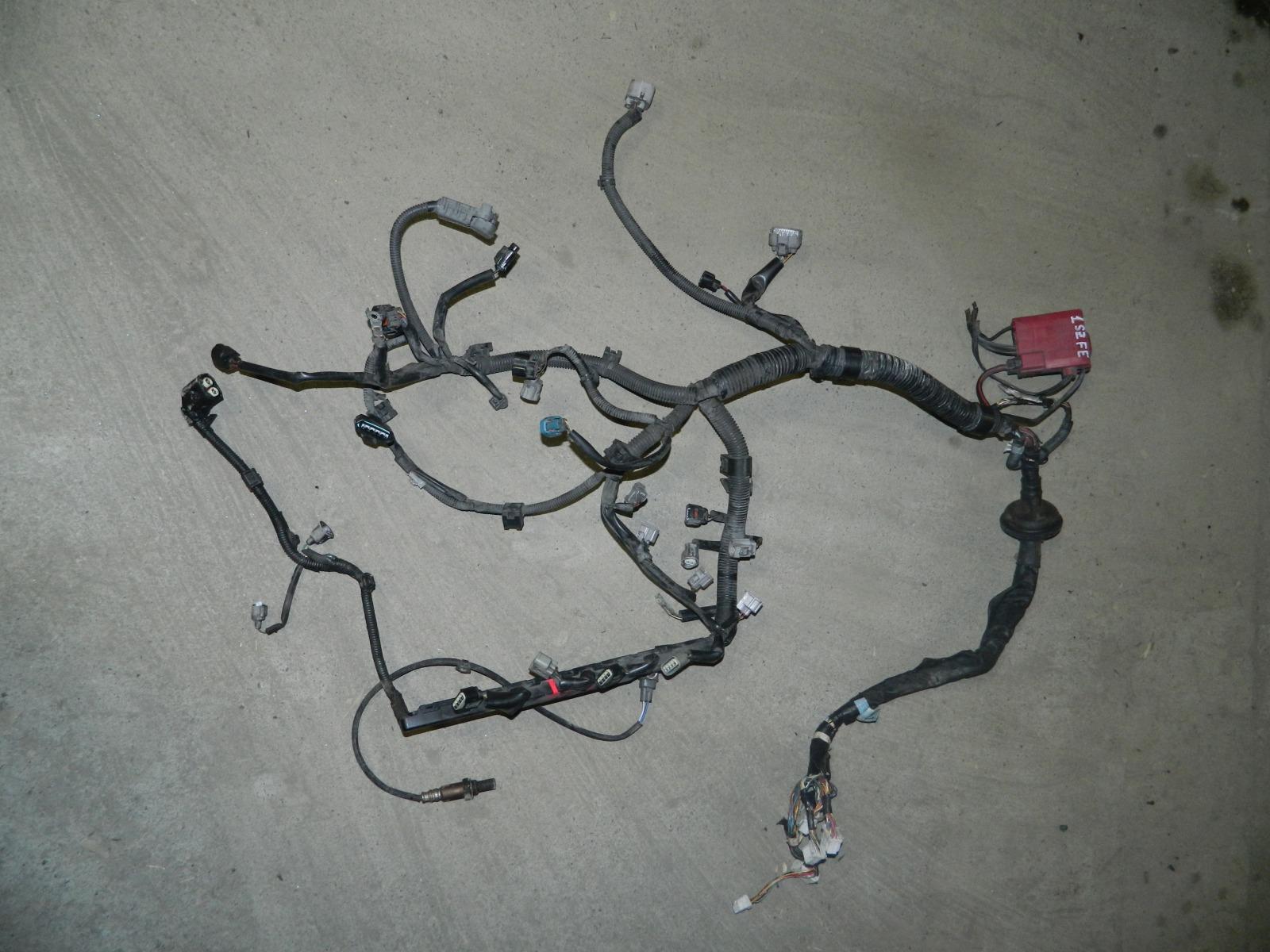 Коса двс Toyota Vitz SCP10 1SZFE (б/у)