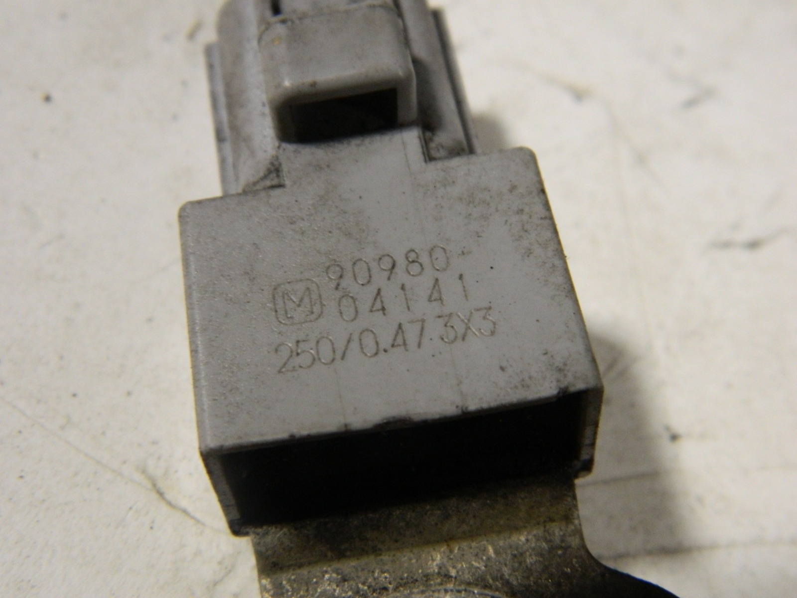 Конденсатор катушки зажигания Toyota Sienta NCP81 1NZ-FE (б/у)