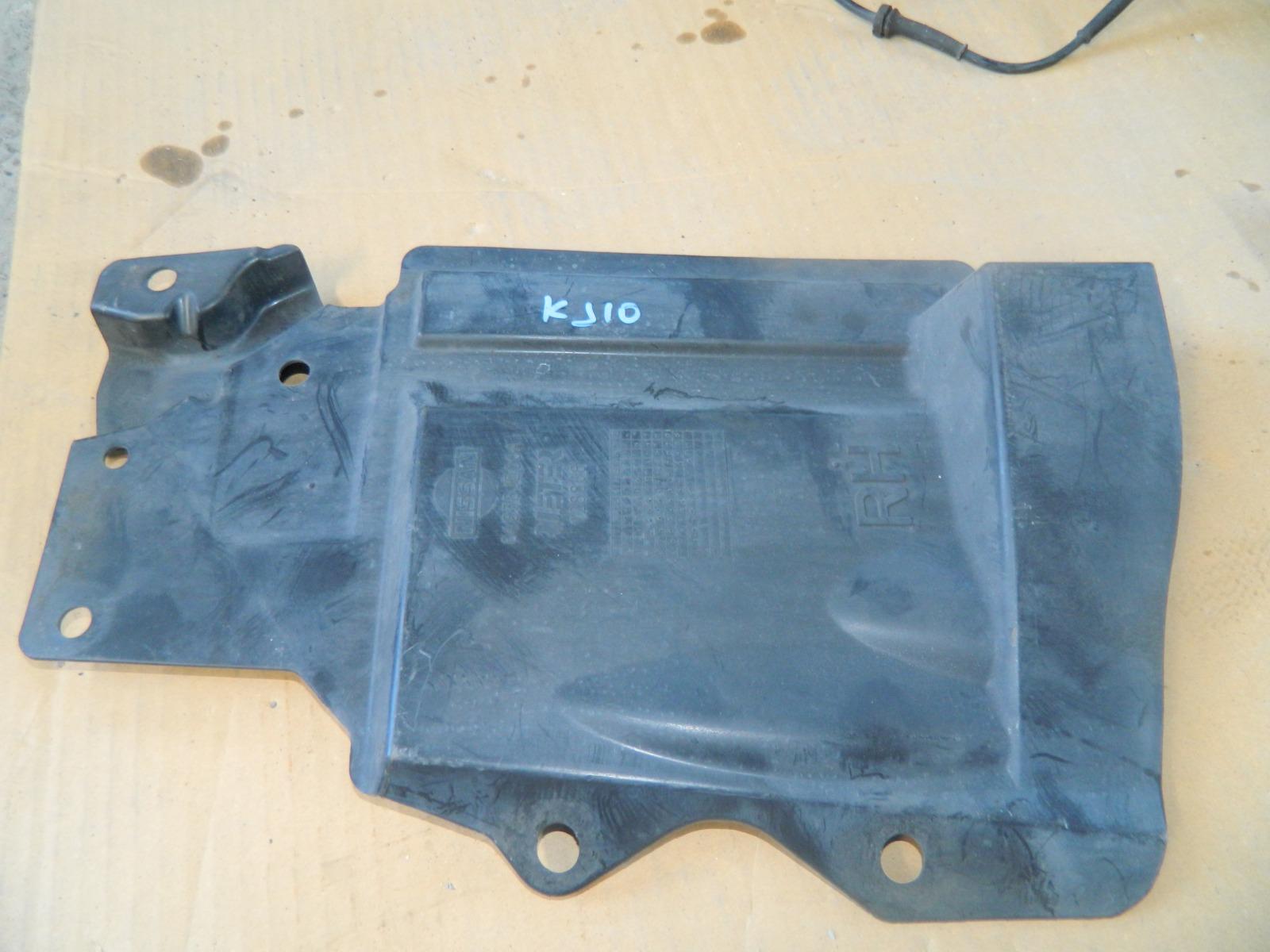 Защита двигателя Nissan Dualis KJ10 MR20DE правая (б/у)