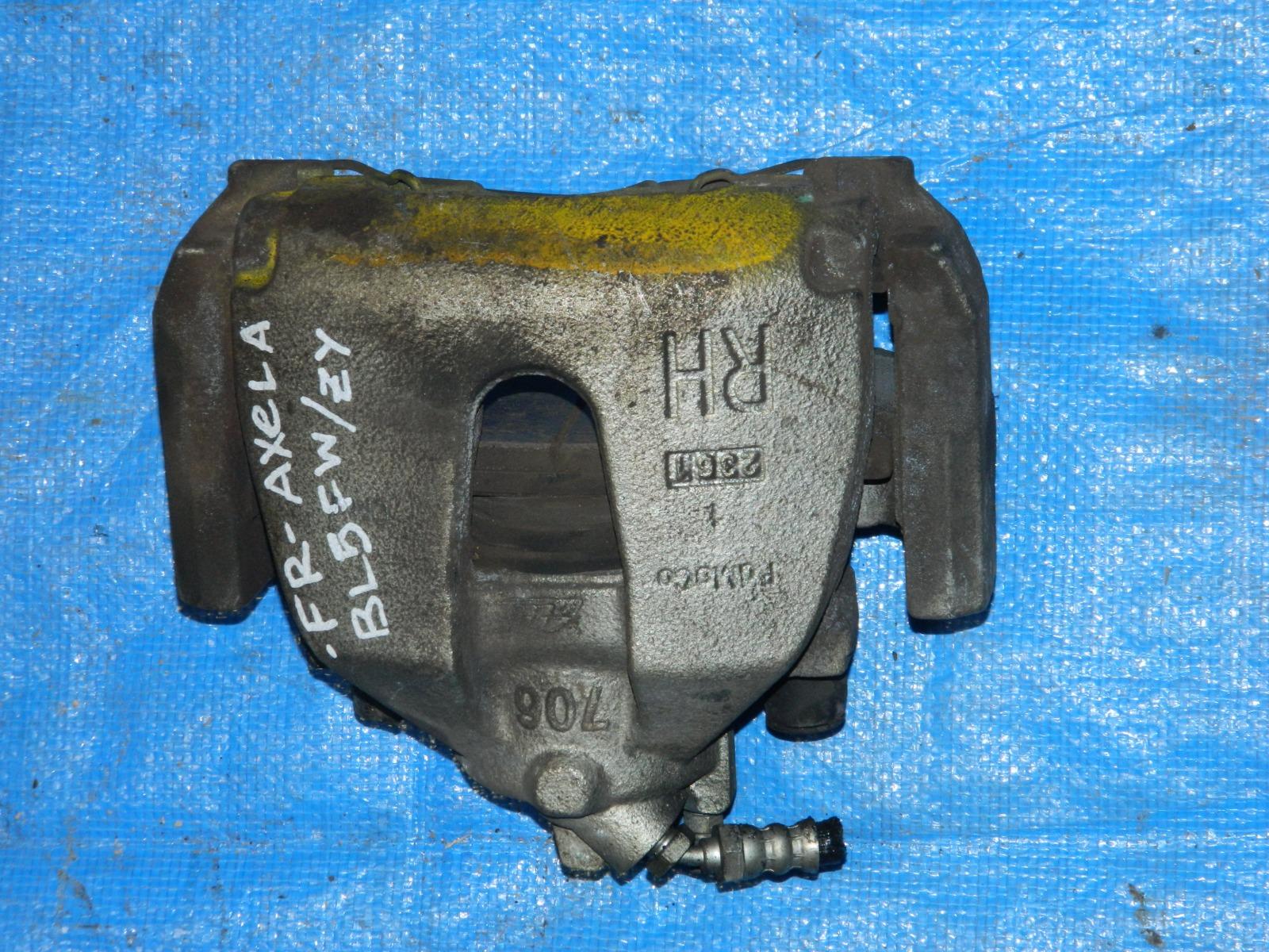 Суппорт Mazda Axela BL5FW ZY передний правый (б/у)
