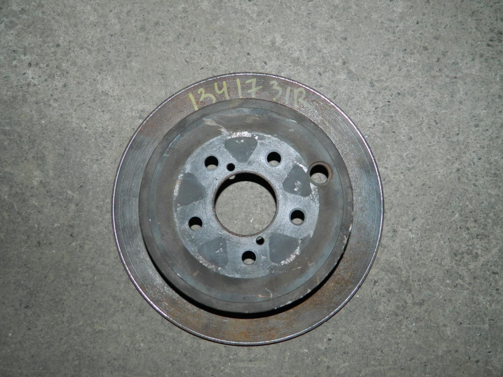 Тормозной диск 13417 задний правый (б/у)