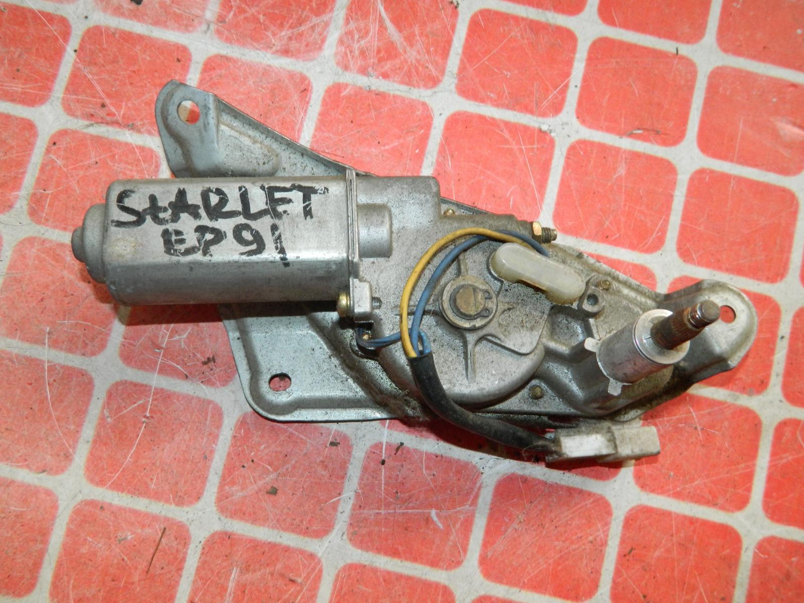 Мотор дворников Toyota Starlet EP91 задний (б/у)