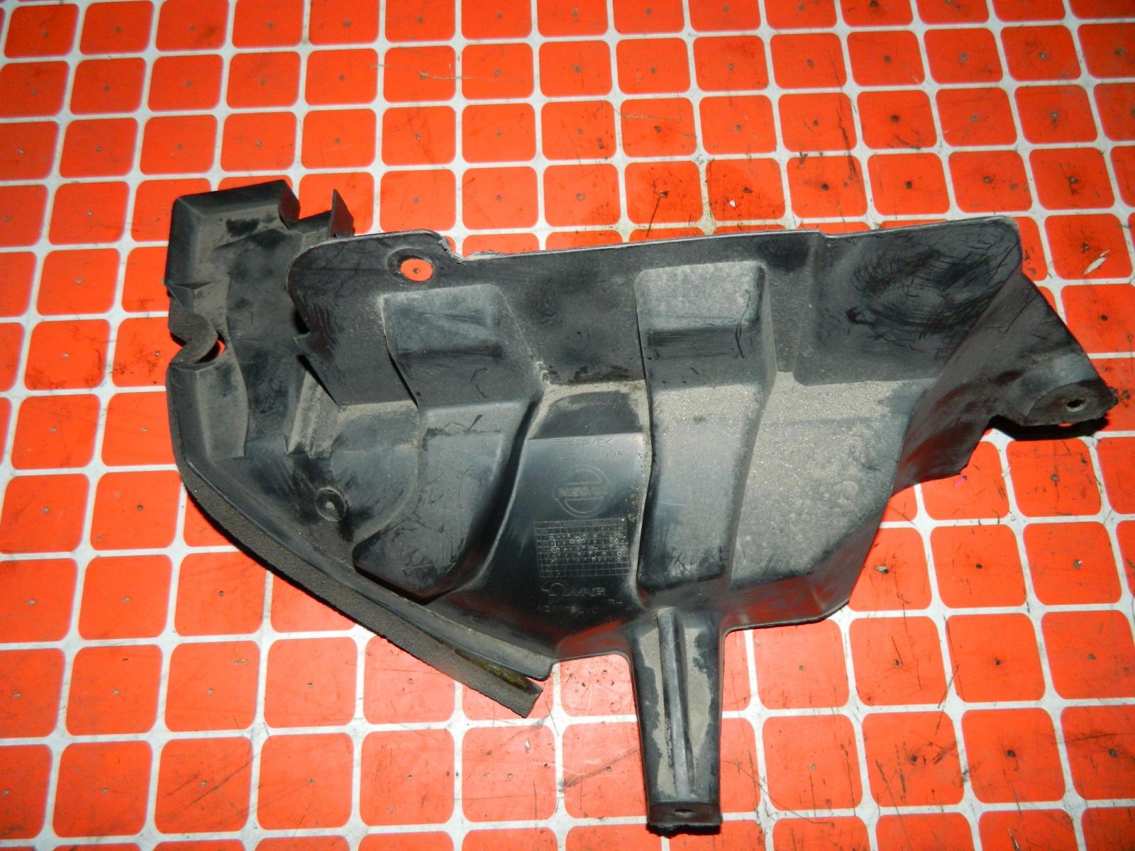 Защита бампера Nissan Dualis KJ10 MR20DE задняя правая (б/у)