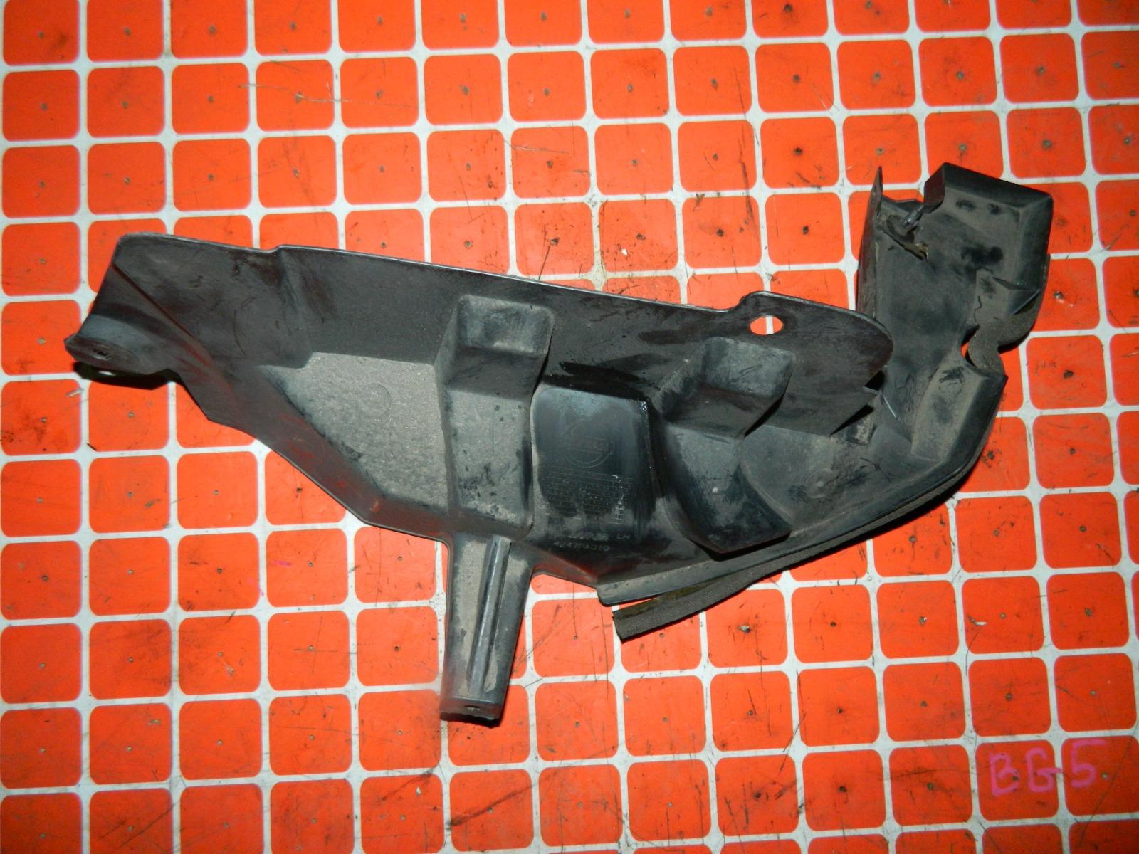 Защита бампера Nissan Dualis KJ10 MR20DE задняя левая (б/у)