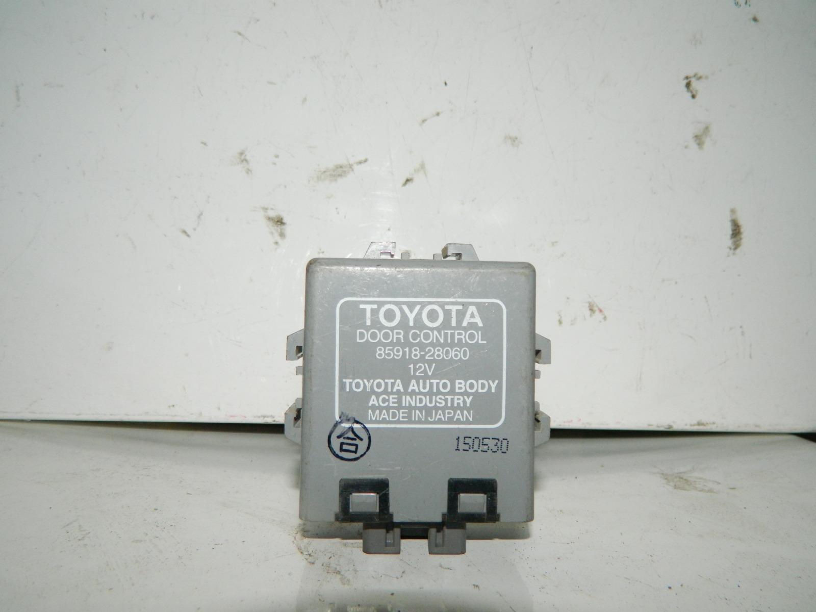 Блок управления дверьми Toyota Estima MCR40 (б/у)
