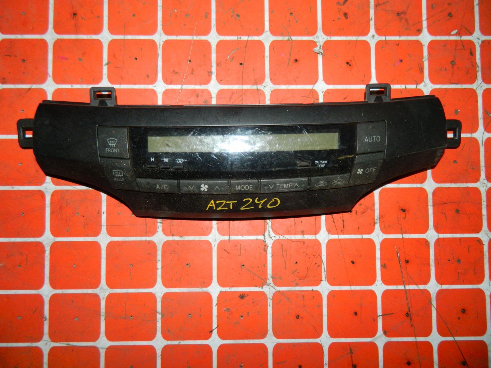 Блок управления климат-контролем Toyota Premio AZT240 (б/у)