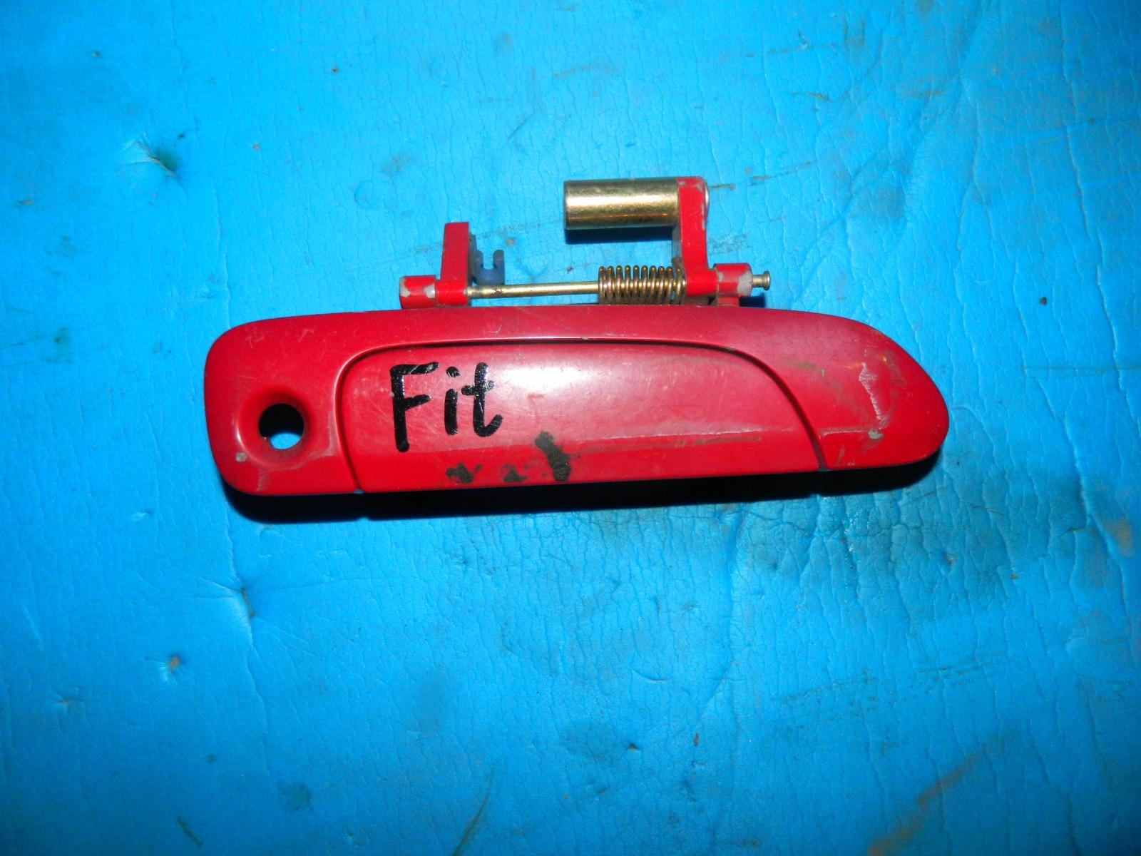 Ручка двери внешняя Honda Fit GD1 передняя правая (б/у)