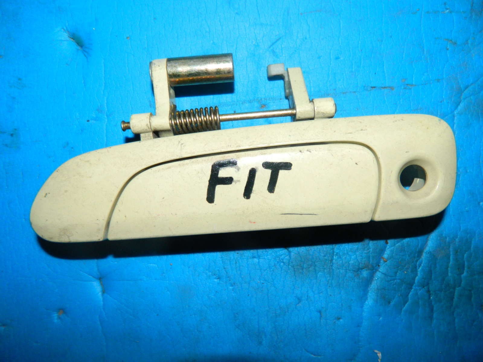 Ручка двери внешняя Honda Fit GD1 передняя левая (б/у)