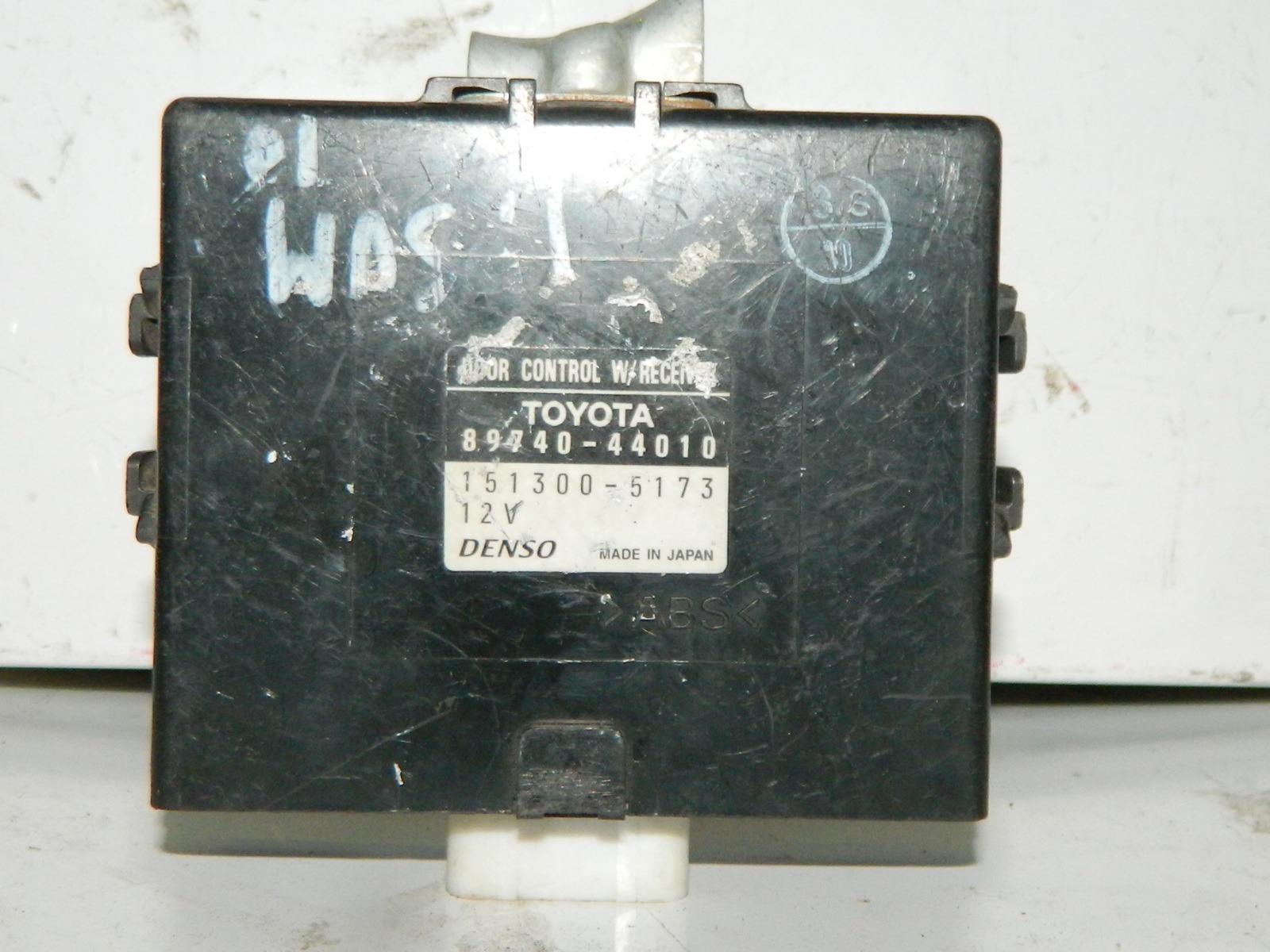 Блок управления дверьми Toyota Ipsum SXM10 (б/у)
