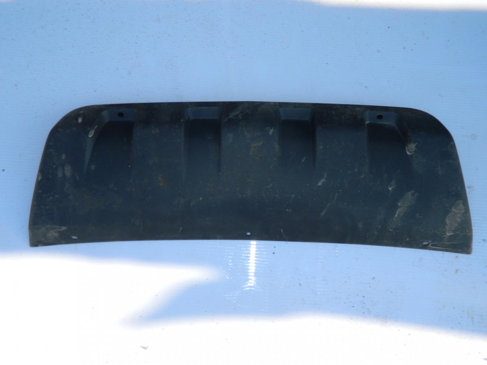 Накладка на бампер Chevrolet Niva передняя (б/у)