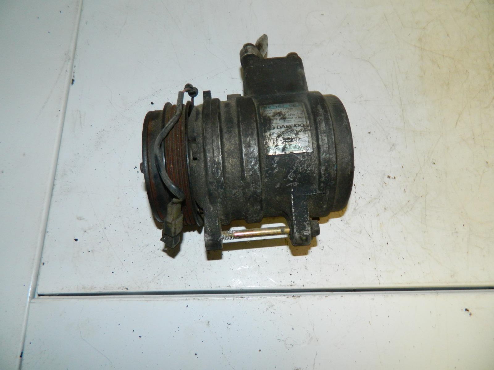 Компрессор кондиционера Daewoo Matiz F8CV (б/у)