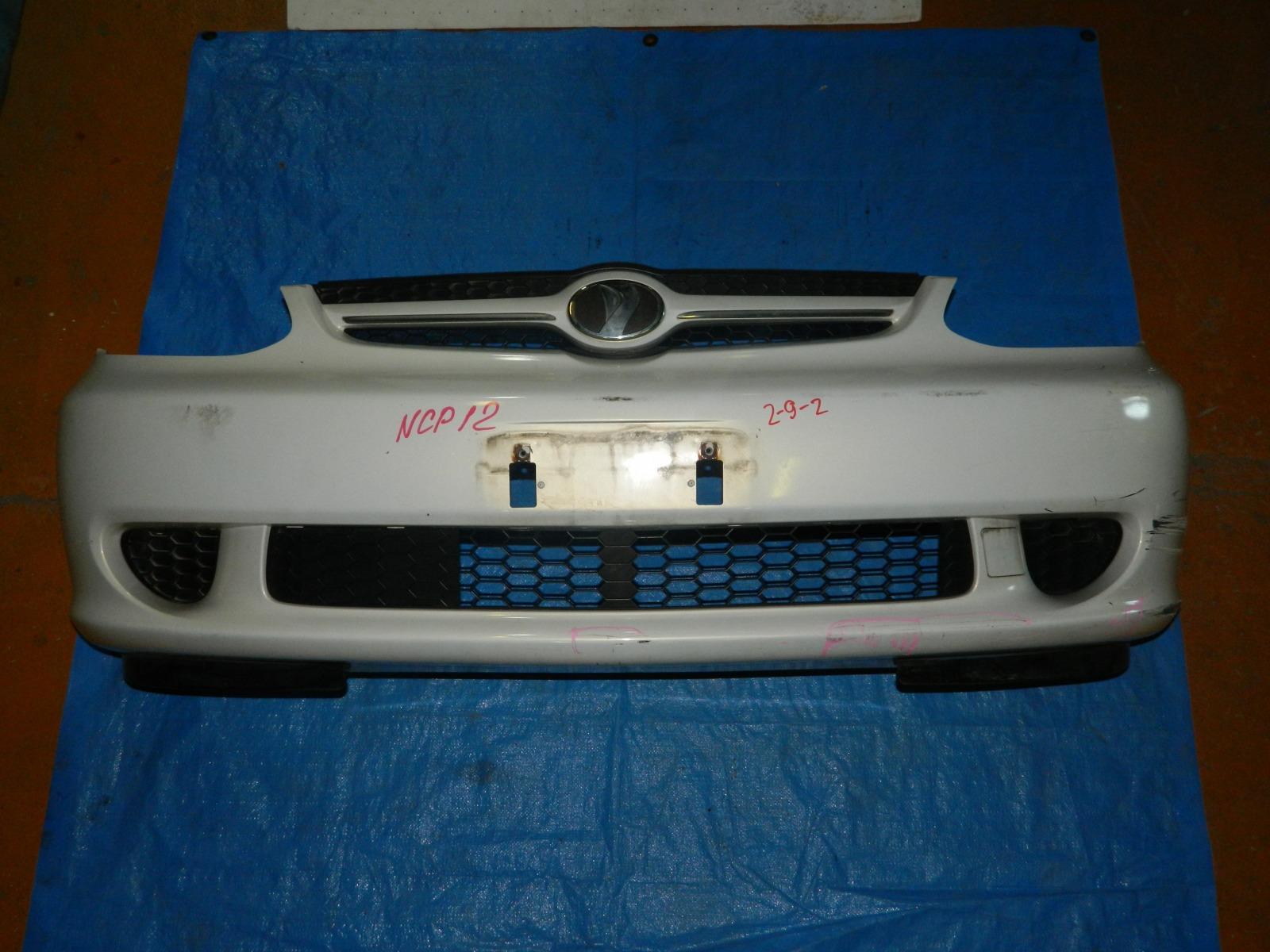 Бампер Toyota Platz NCP12 передний (б/у)