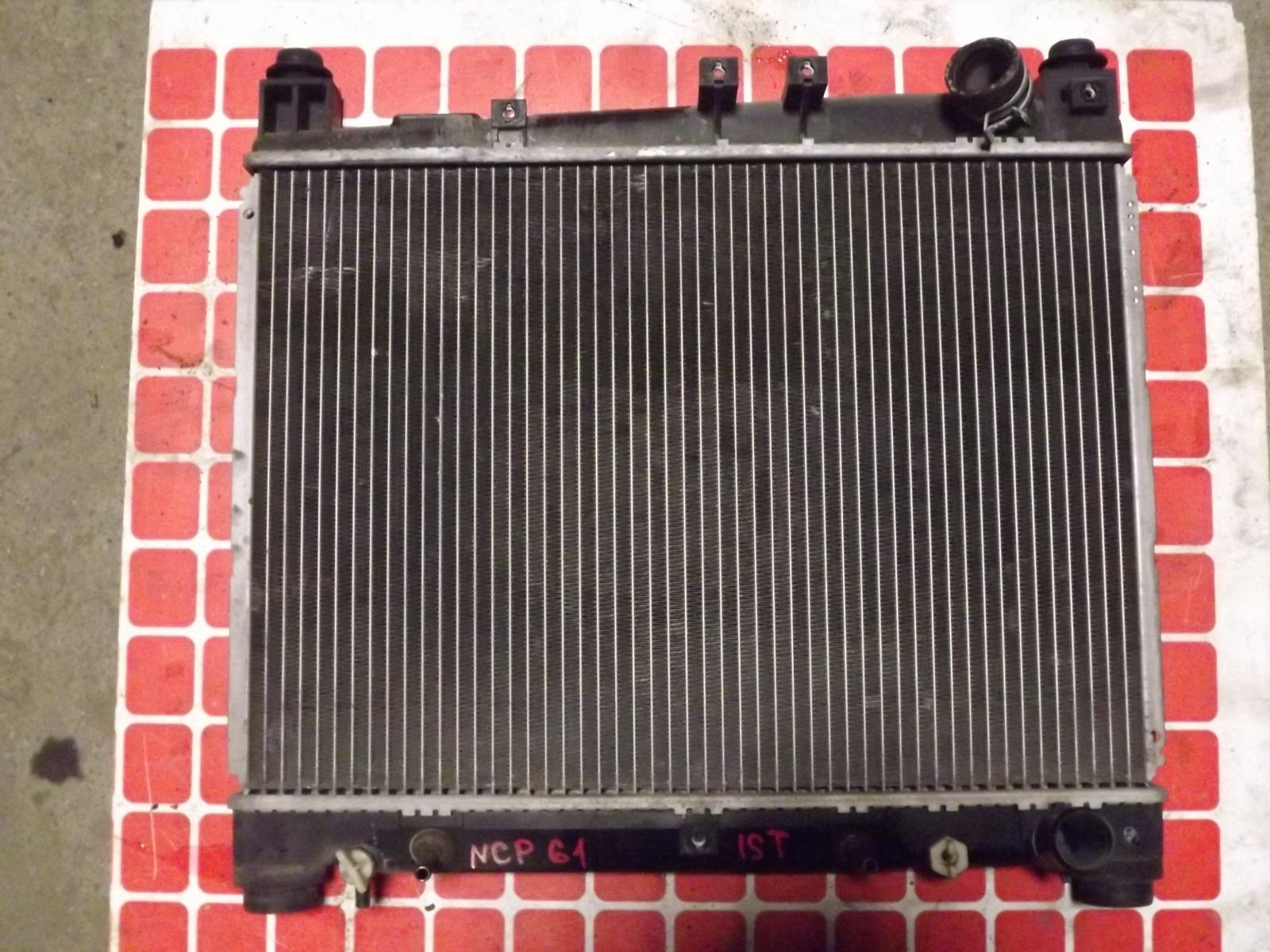 Радиатор двс Toyota Ist NCP61 (б/у)