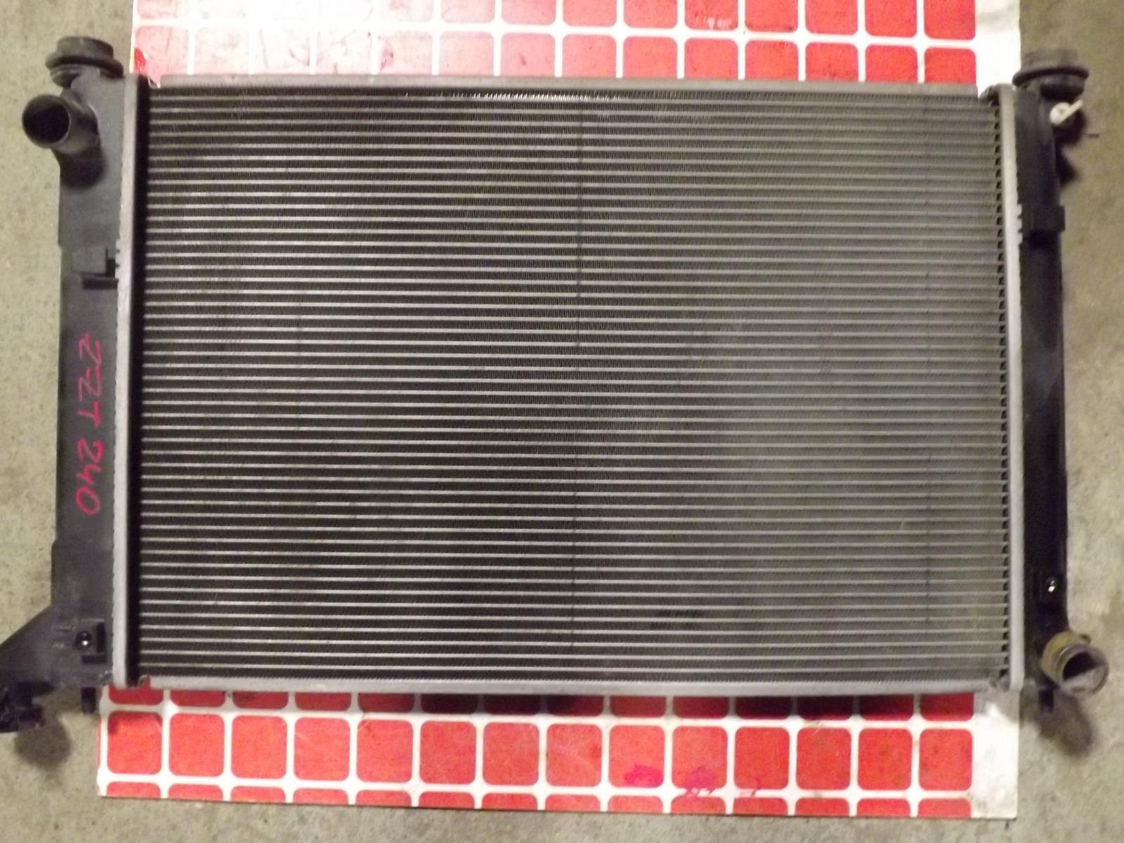 Радиатор двс Toyota Allion ZZT240 (б/у)