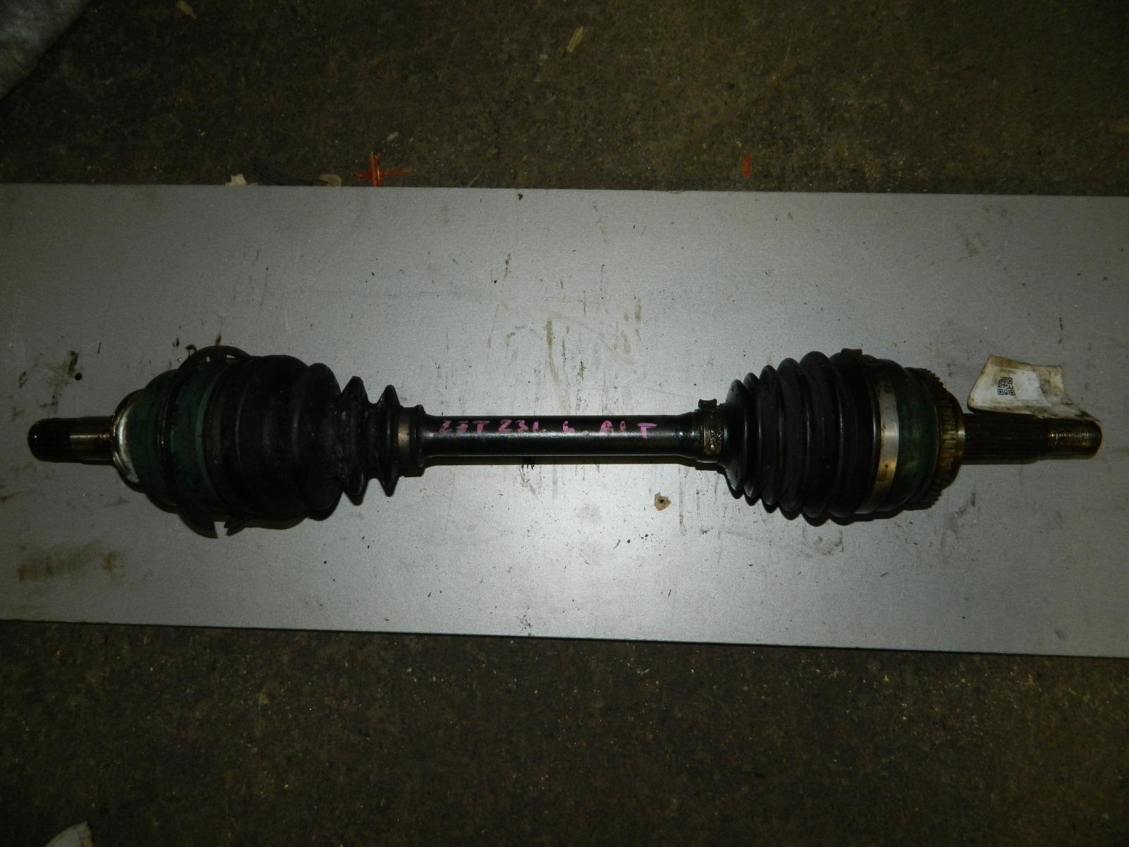 Привод Toyota Celica ZZT231 2ZZ-GE передний левый (б/у)