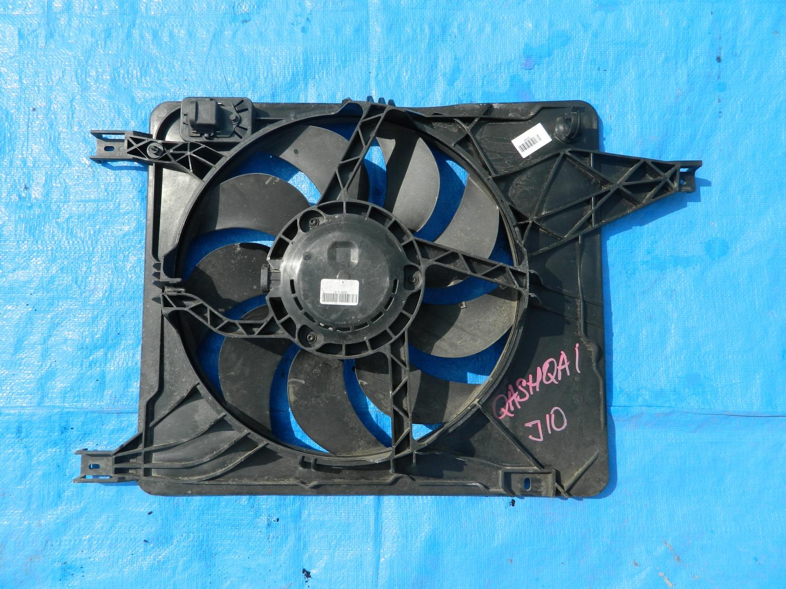 Диффузор радиатора Nissan Dualis J10 (б/у)