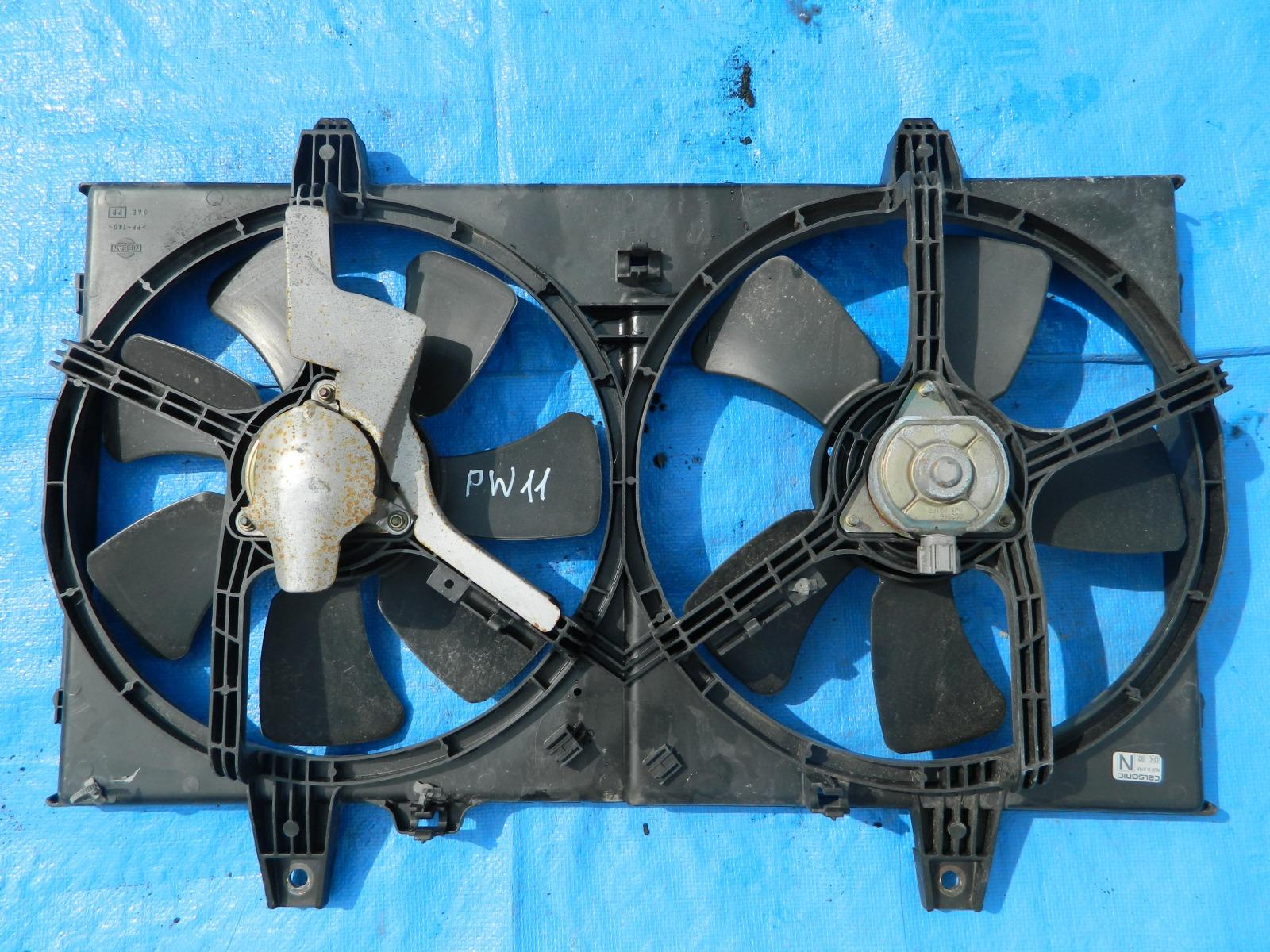 Диффузор радиатора Nissan Avenir PW11 SR20DE (б/у)