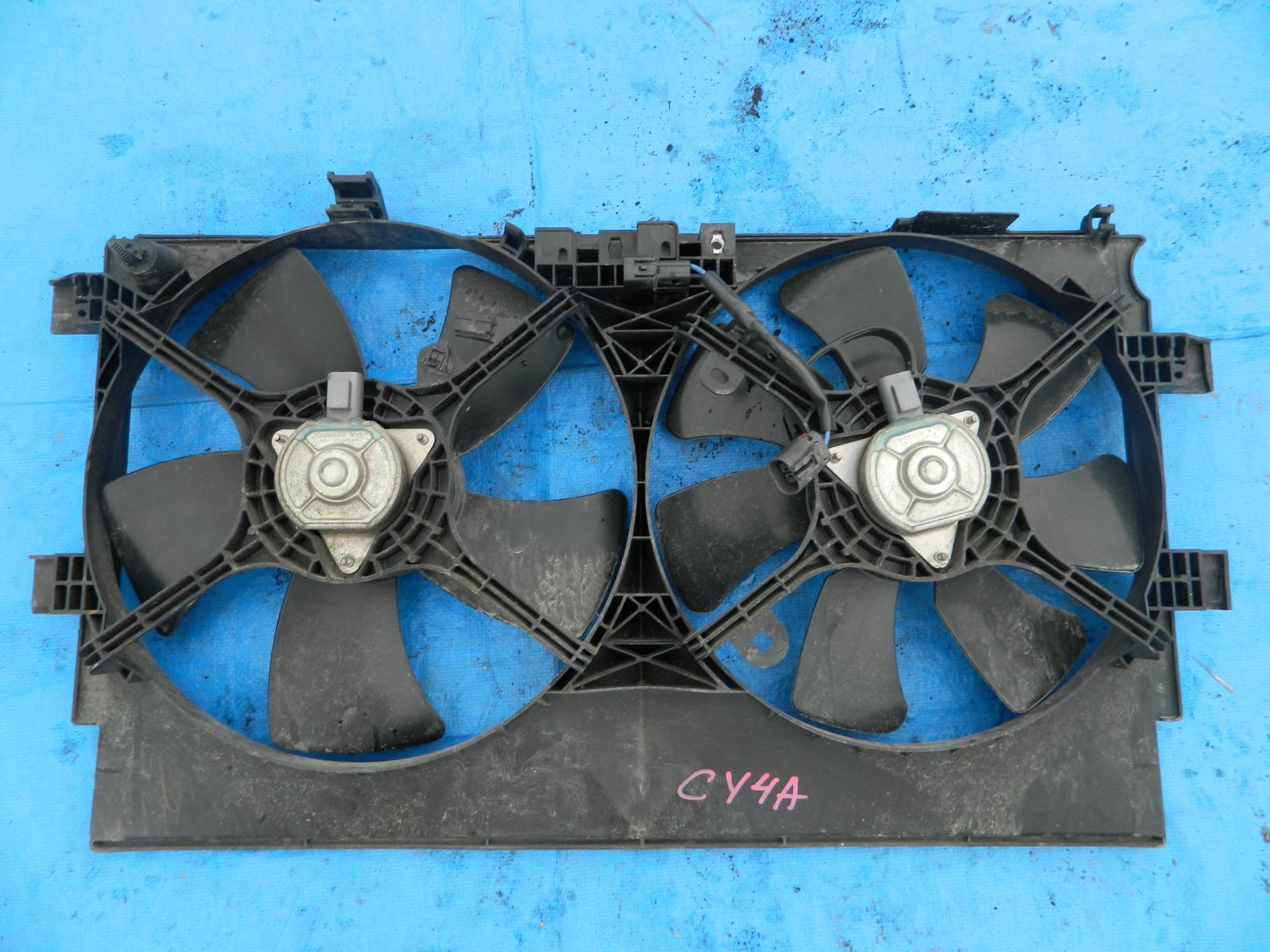 Диффузор радиатора Mitsubishi Galant Fortis CY4A (б/у)
