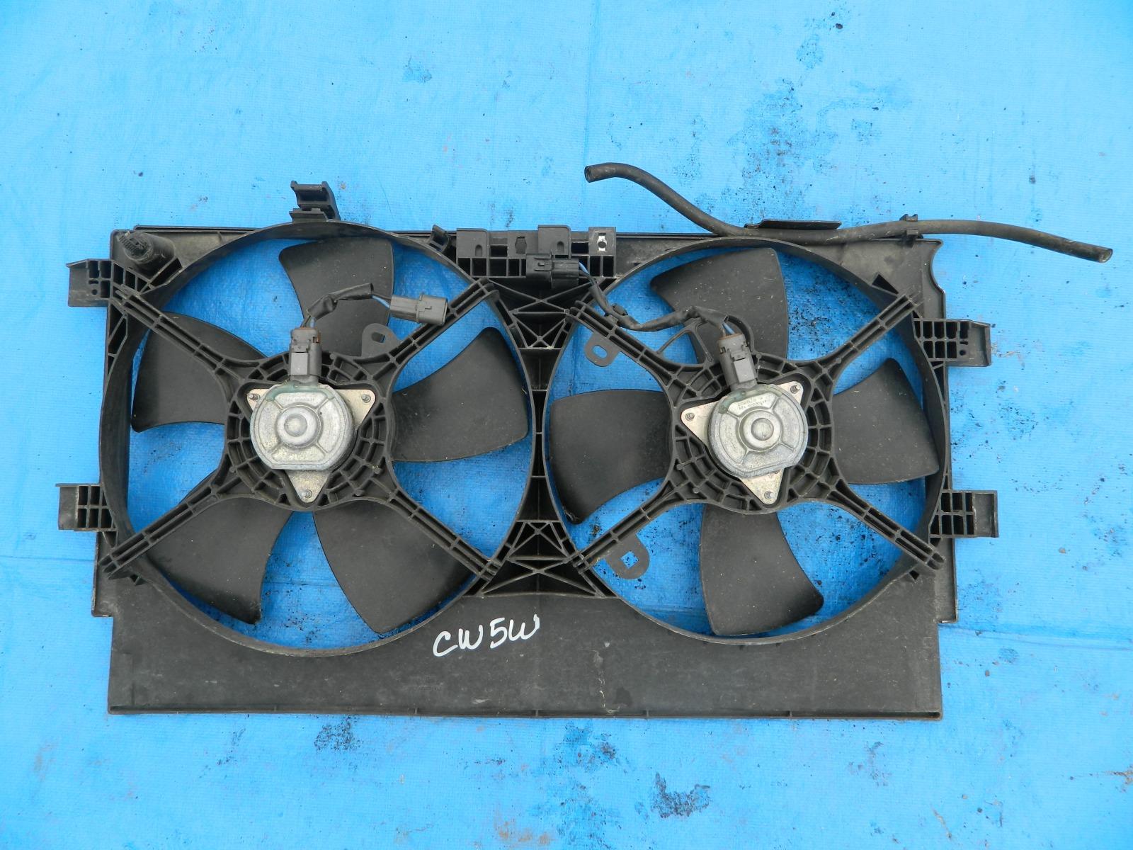 Диффузор радиатора Mitsubishi Outlander CW5W (б/у)