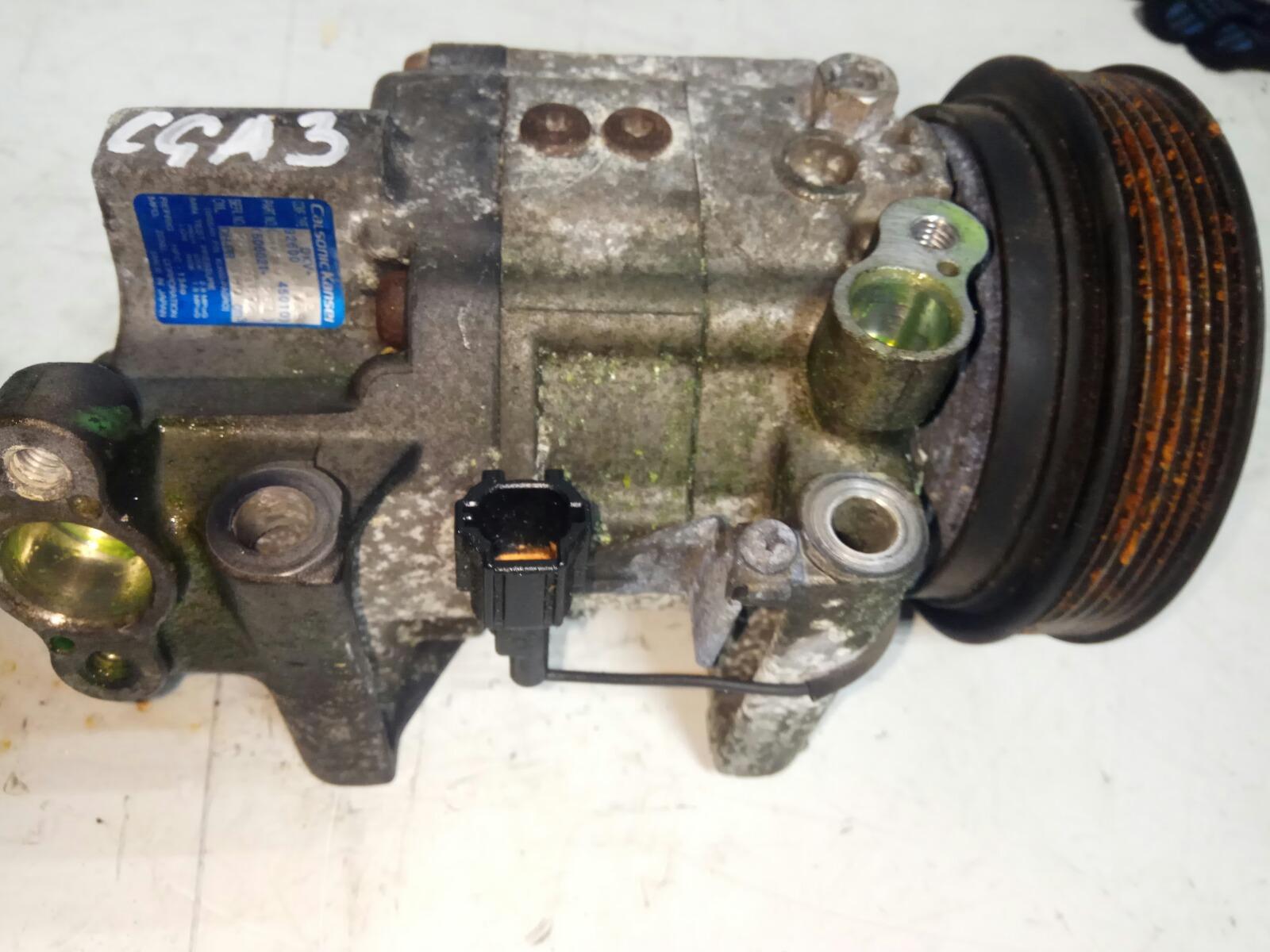 Компрессор кондиционера Nissan Cube ANZ10 CGA3DE (б/у)