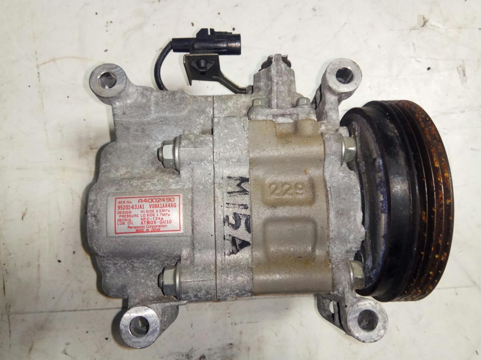 Компрессор кондиционера Suzuki Sx4 YB11S M15A (б/у)