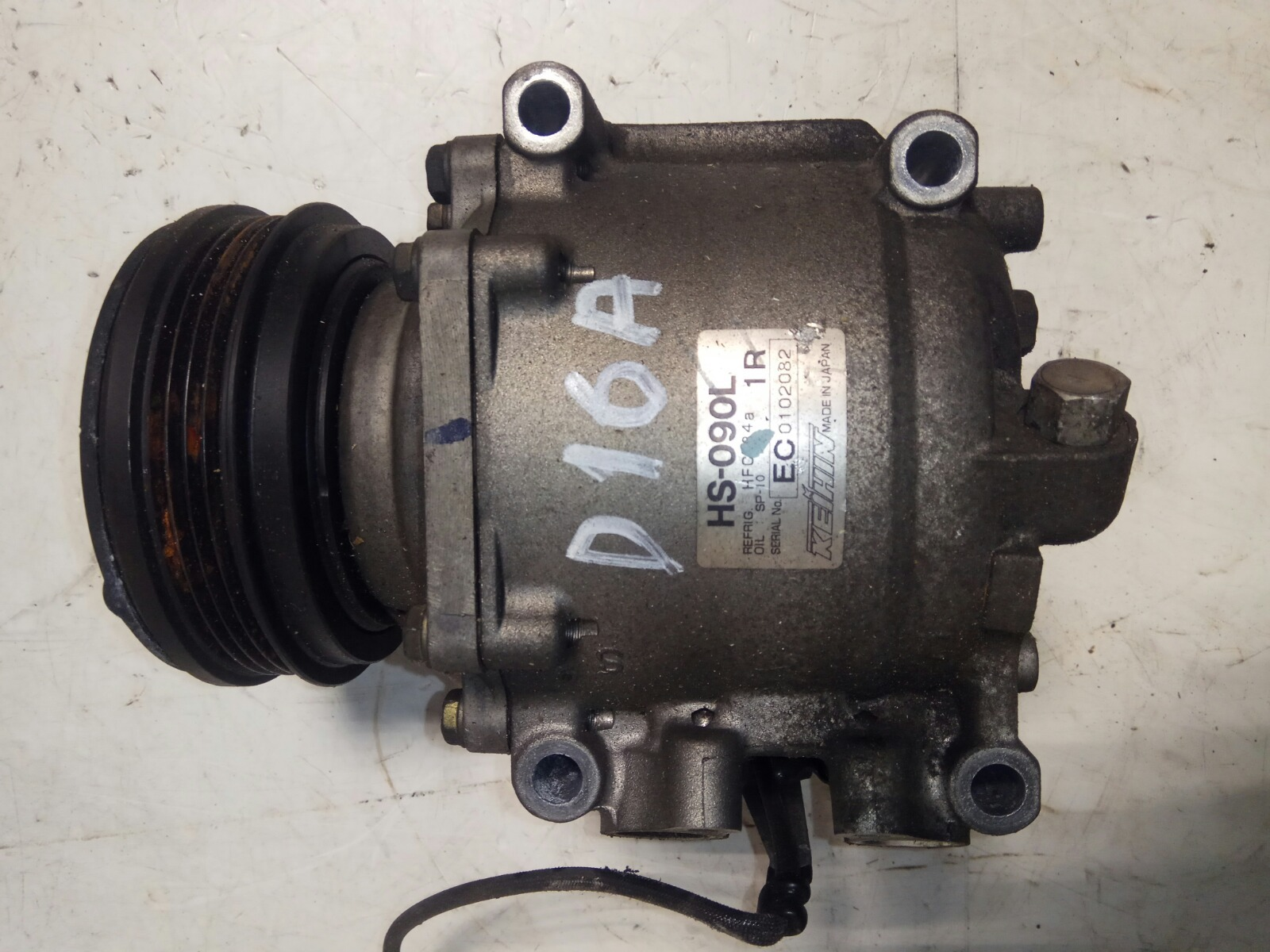 Компрессор кондиционера Honda Hr-V GH3 D16A (б/у)