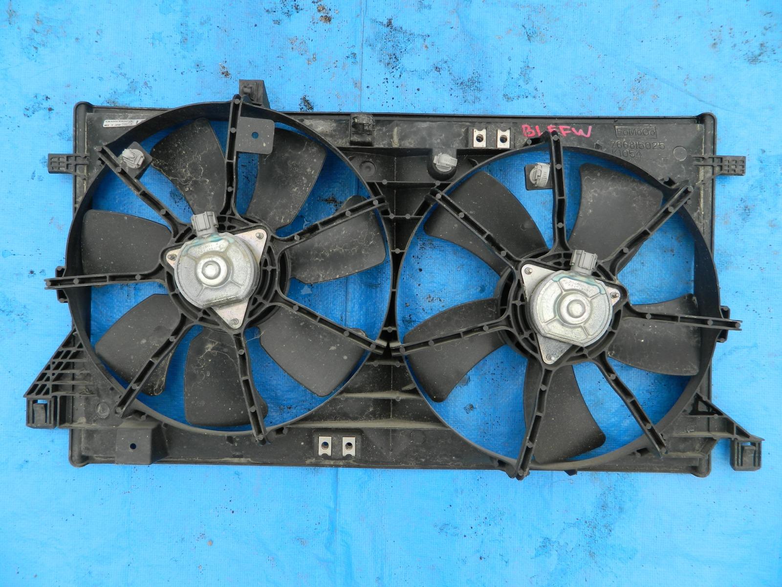 Диффузор радиатора Mazda Axela BL (б/у)