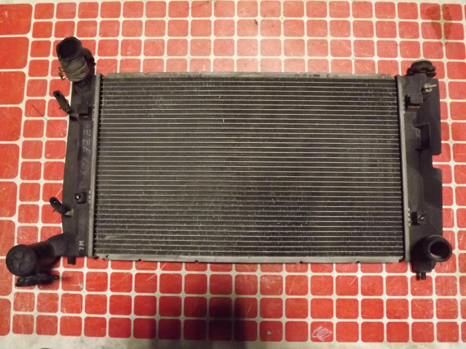 Радиатор двс Toyota Corolla Fielder ZZE124 (б/у)