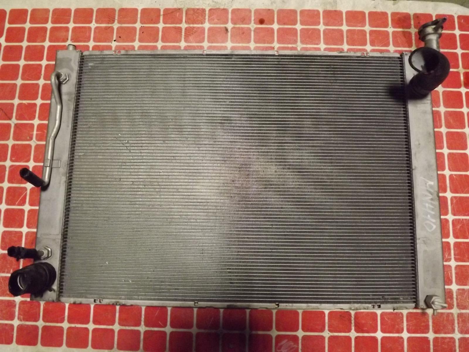 Радиатор двс Toyota Alphard MNH10 1M-FE (б/у)