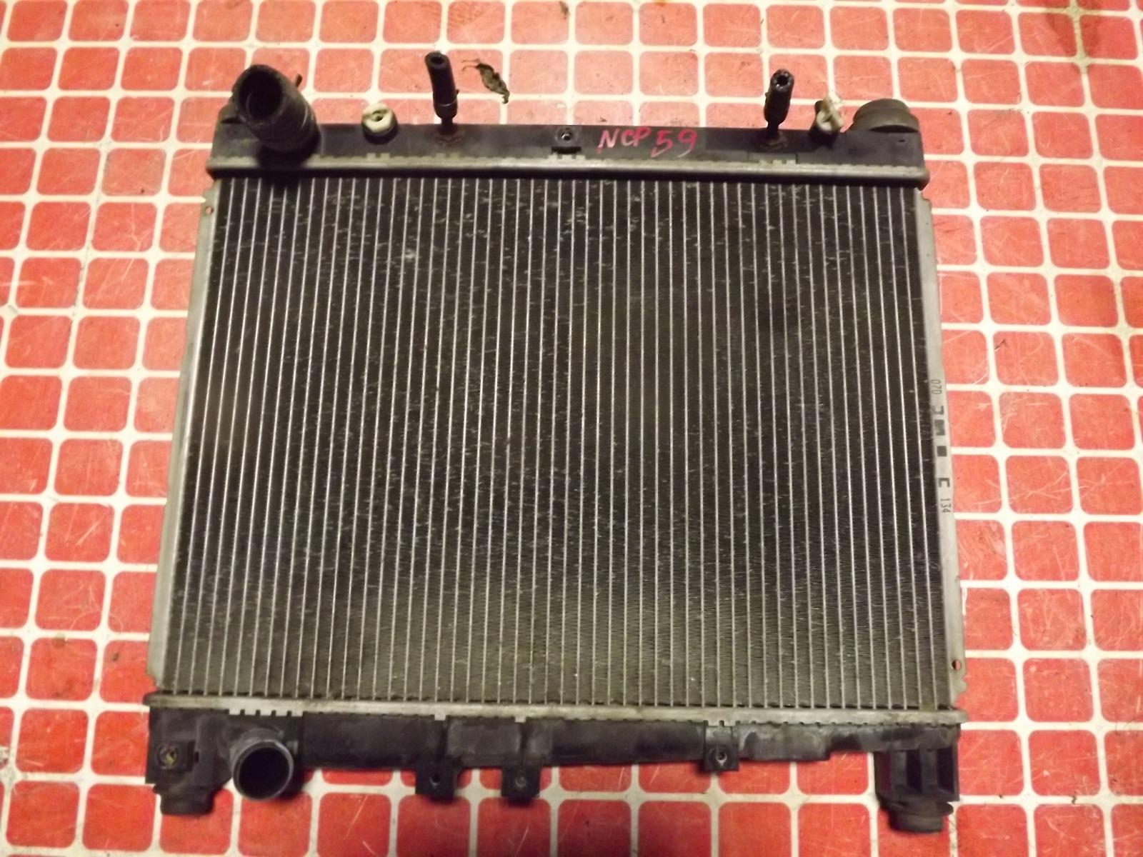 Радиатор двс Toyota Probox NCP59 1NZ-FE (б/у)