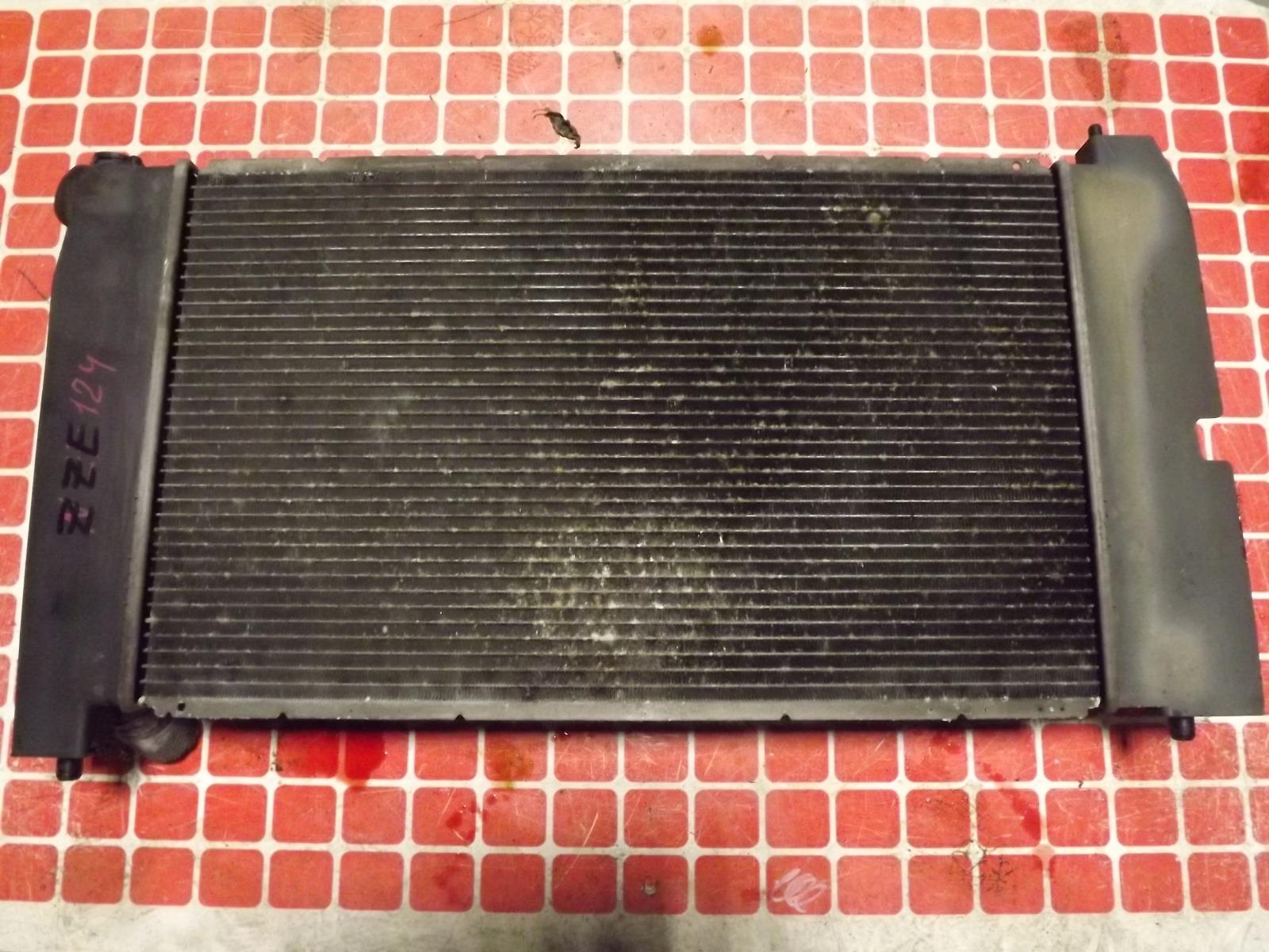 Радиатор двс Toyota Corolla Fielder ZZE124 1ZZ-FE (б/у)