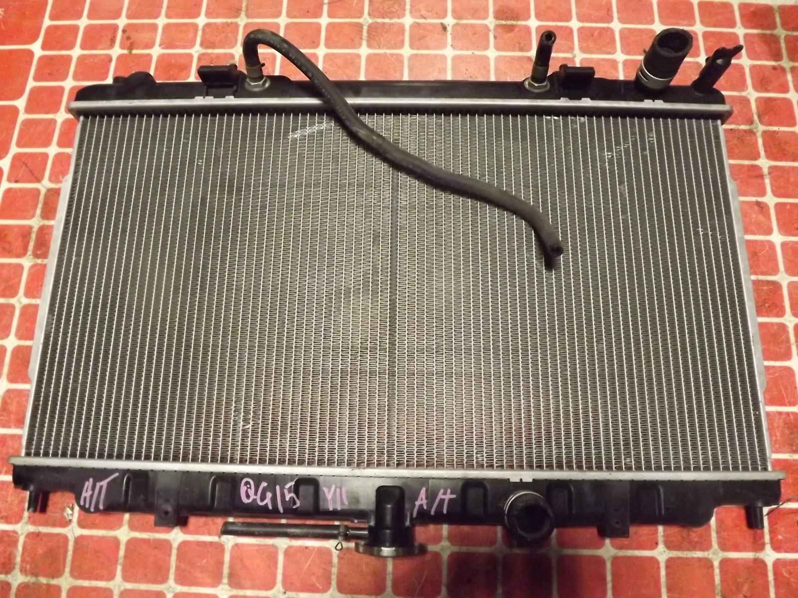 Радиатор двс Nissan Ad.bluebird Sylphy Y11.WHY11 QG15DE.QG15DE (б/у)