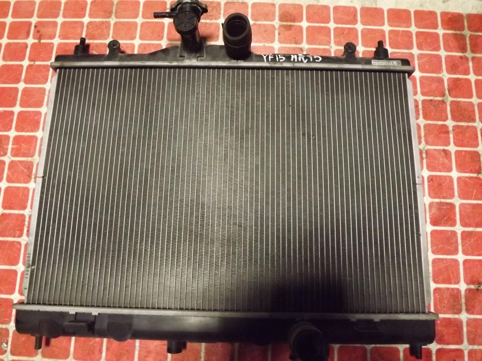 Радиатор двс Nissan Juke YF15 HR15 (б/у)