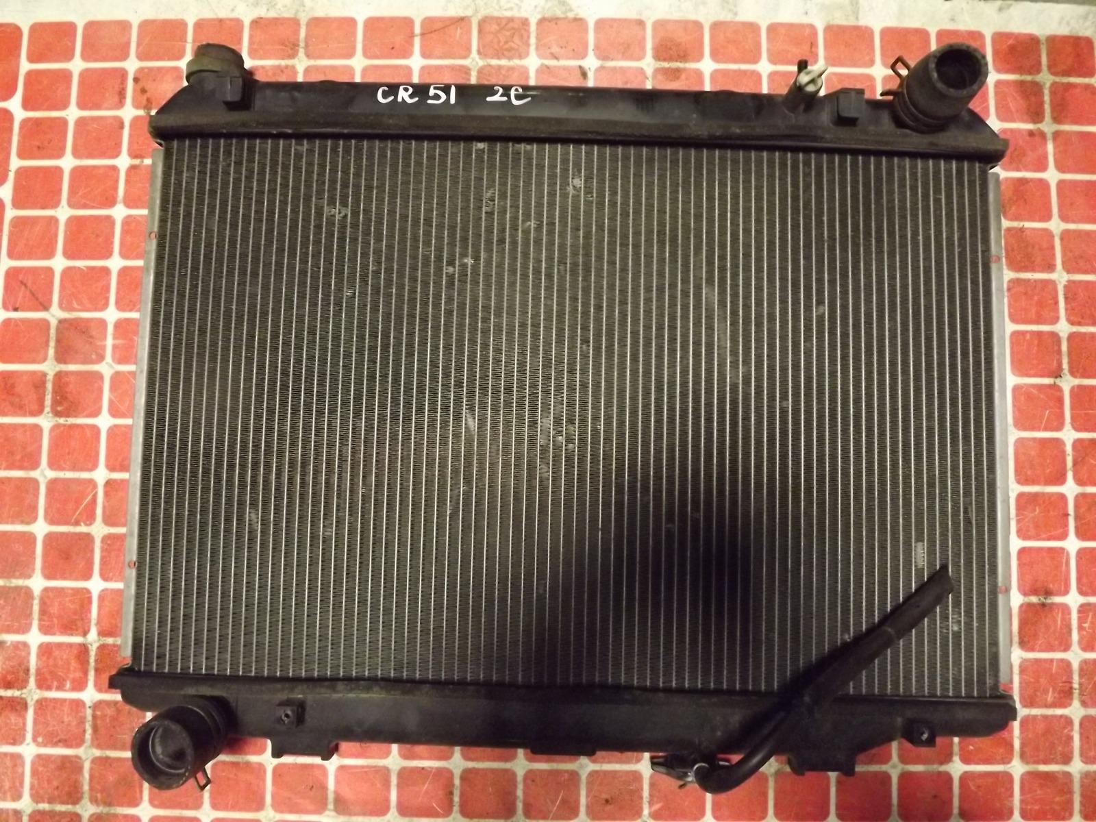 Радиатор двс Toyota Lite Ace Noah CR51 2C (б/у)