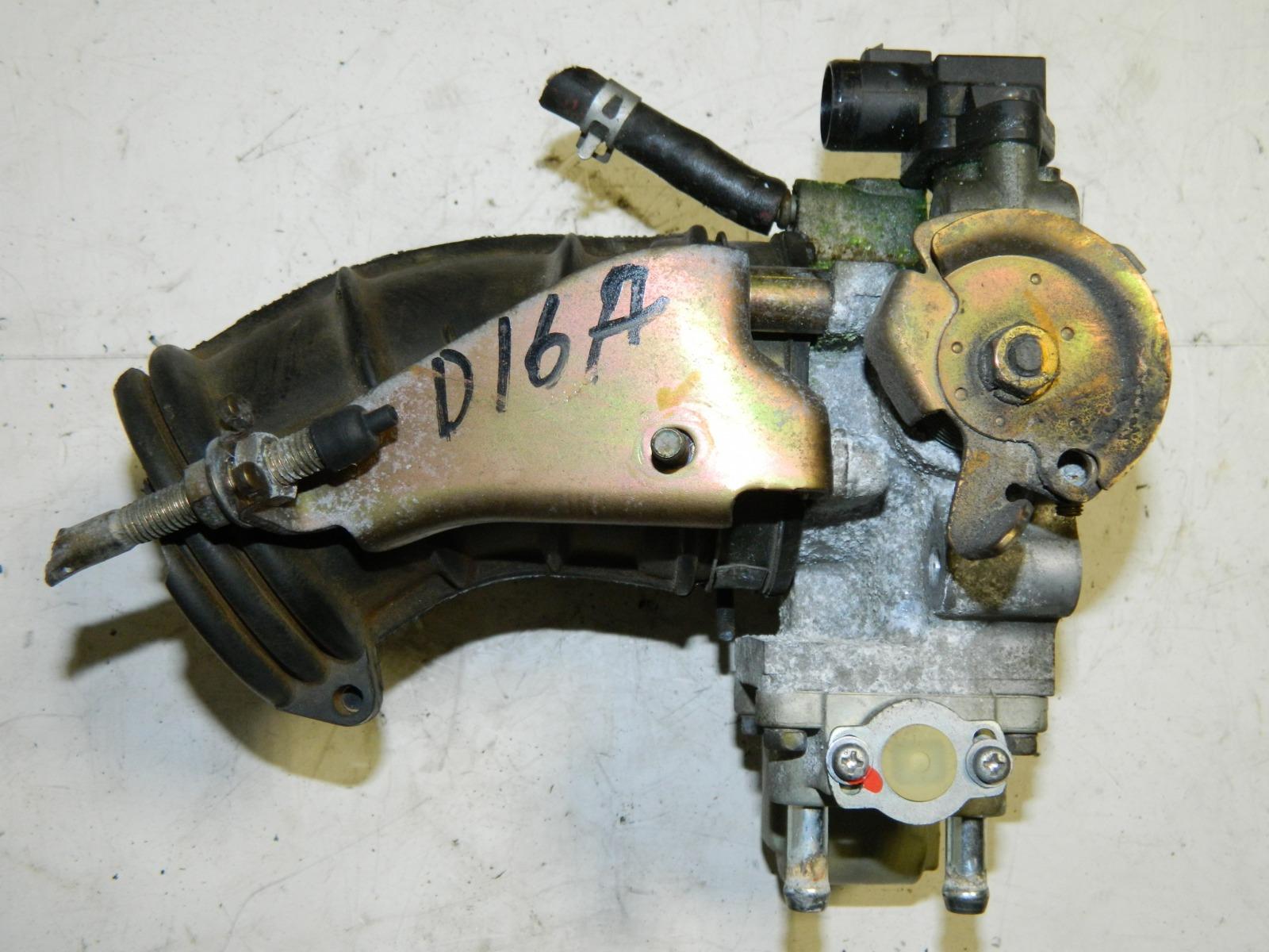 Дроссельная заслонка Honda Hr-V GH3 D16A (б/у)