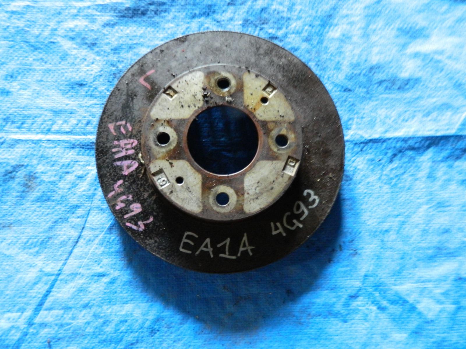 Тормозной диск Mitsubishi Galant EA1A передний (б/у)