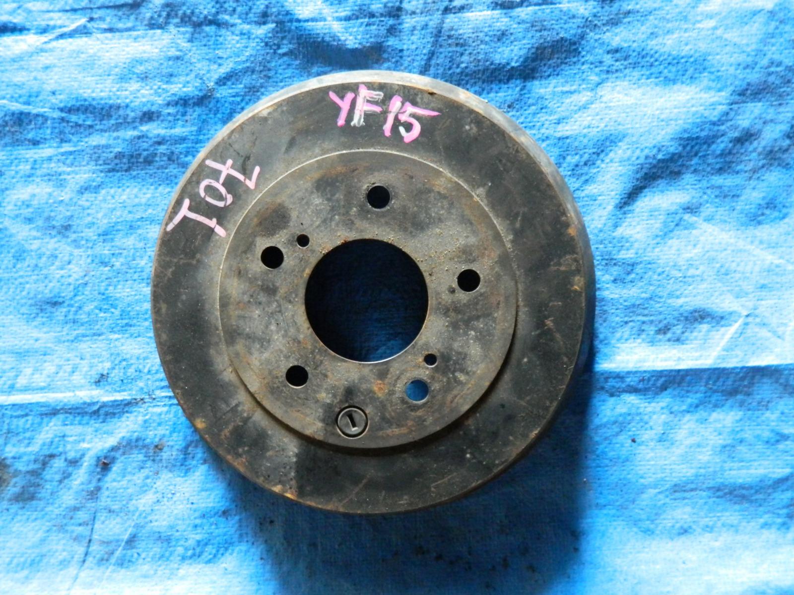 Тормозной диск Nissan Juke YF15 задний (б/у)