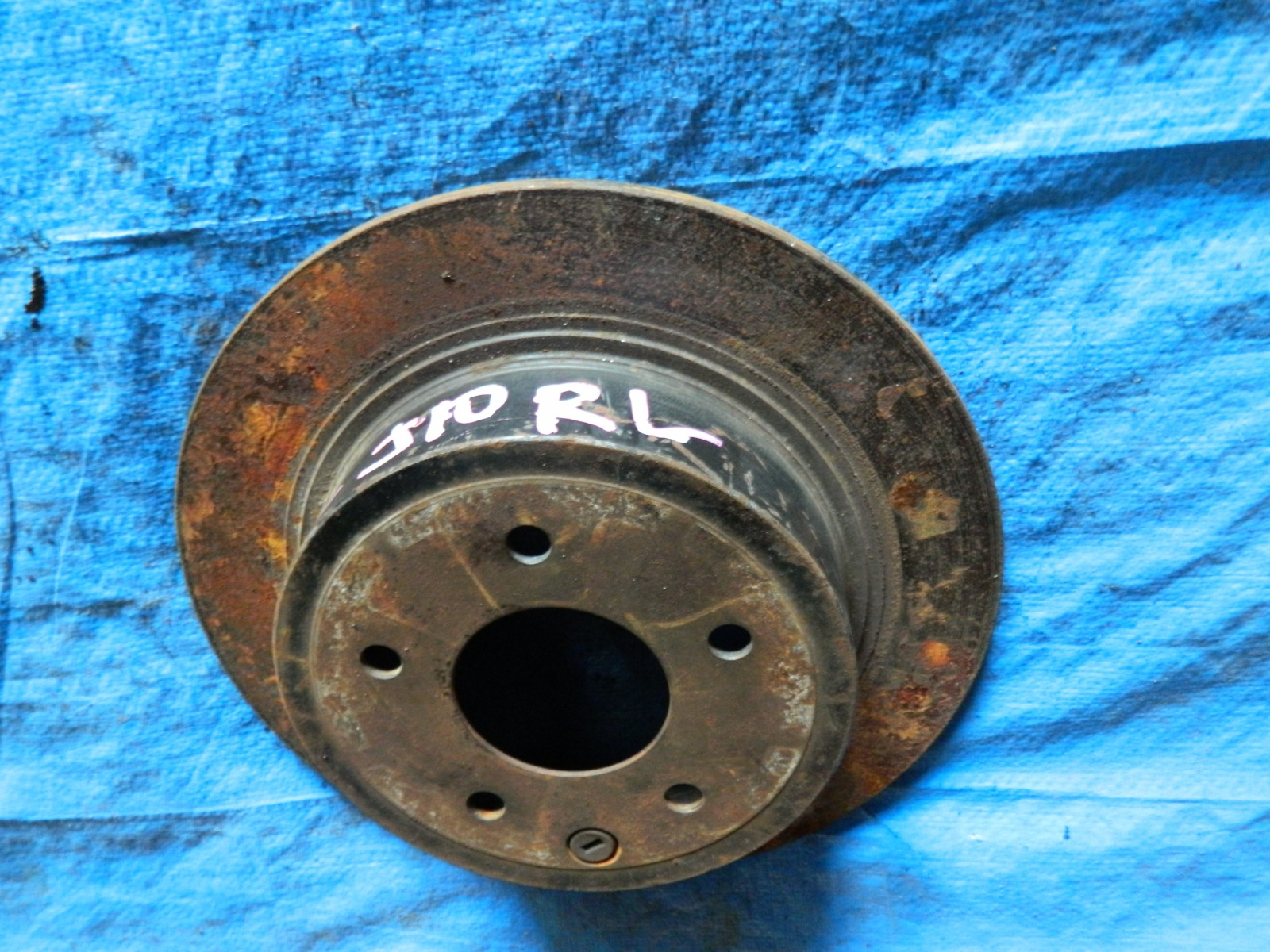 Тормозной диск Nissan Qashqai J10 задний (б/у)