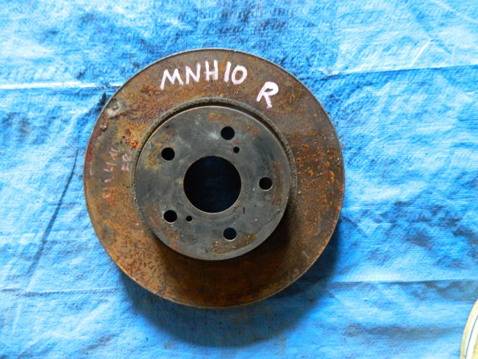 Тормозной диск Toyota Alphard MNH10 передний (б/у)