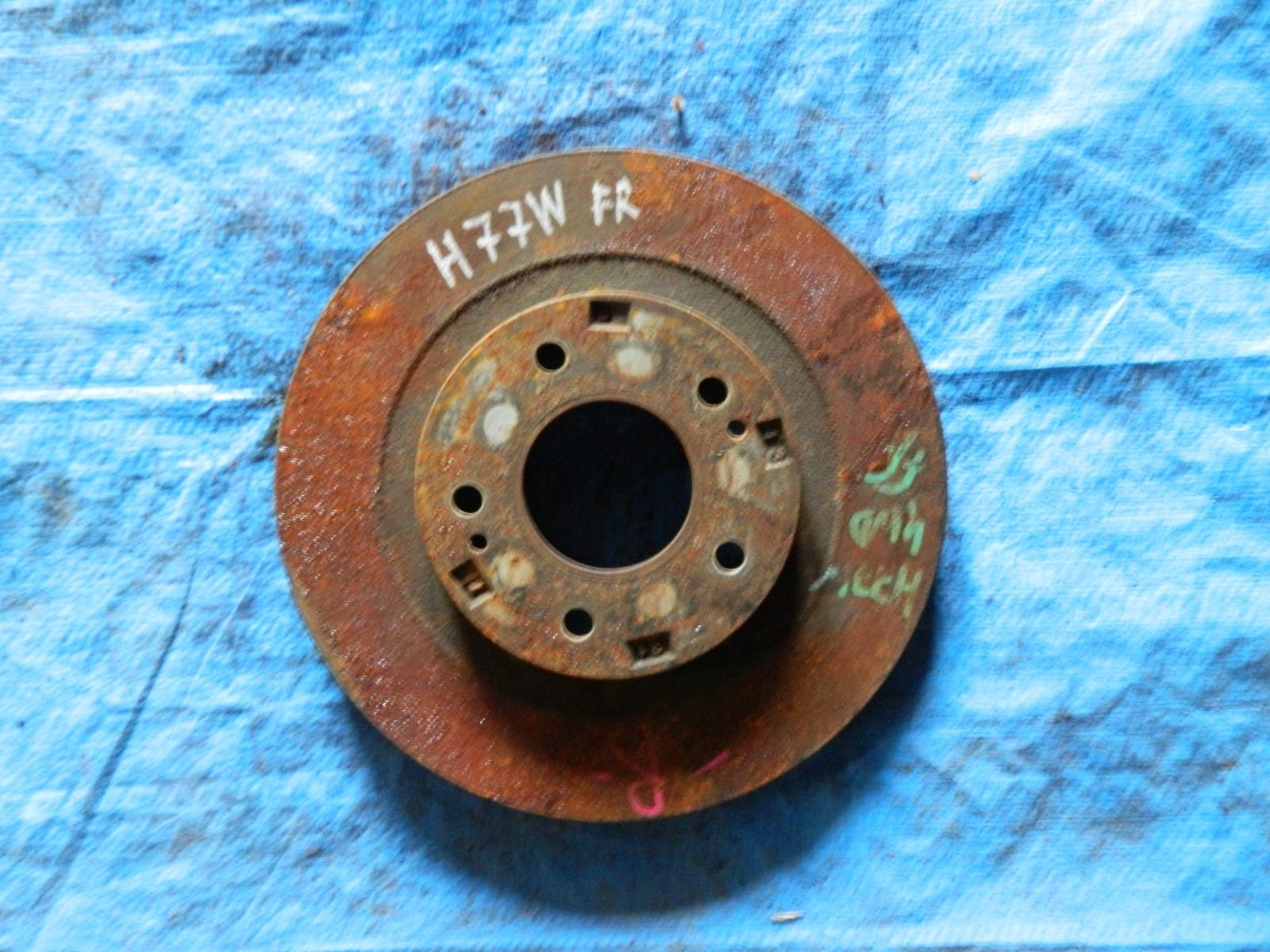 Тормозной диск Mitsubishi Pajero Io H77W передний (б/у)