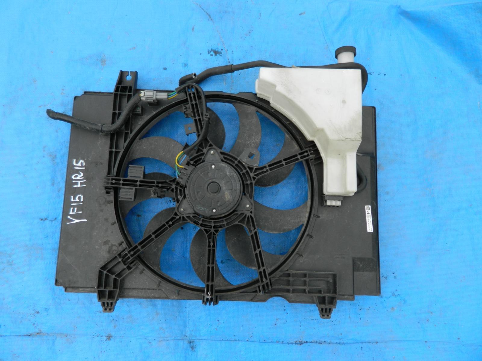 Диффузор радиатора Nissan Juke F15 HR15DE (б/у)