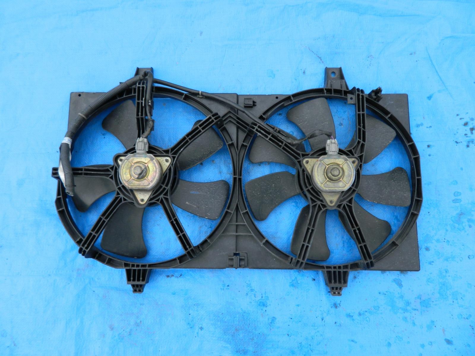 Диффузор радиатора Nissan Ad Y11 QG15DE (б/у)