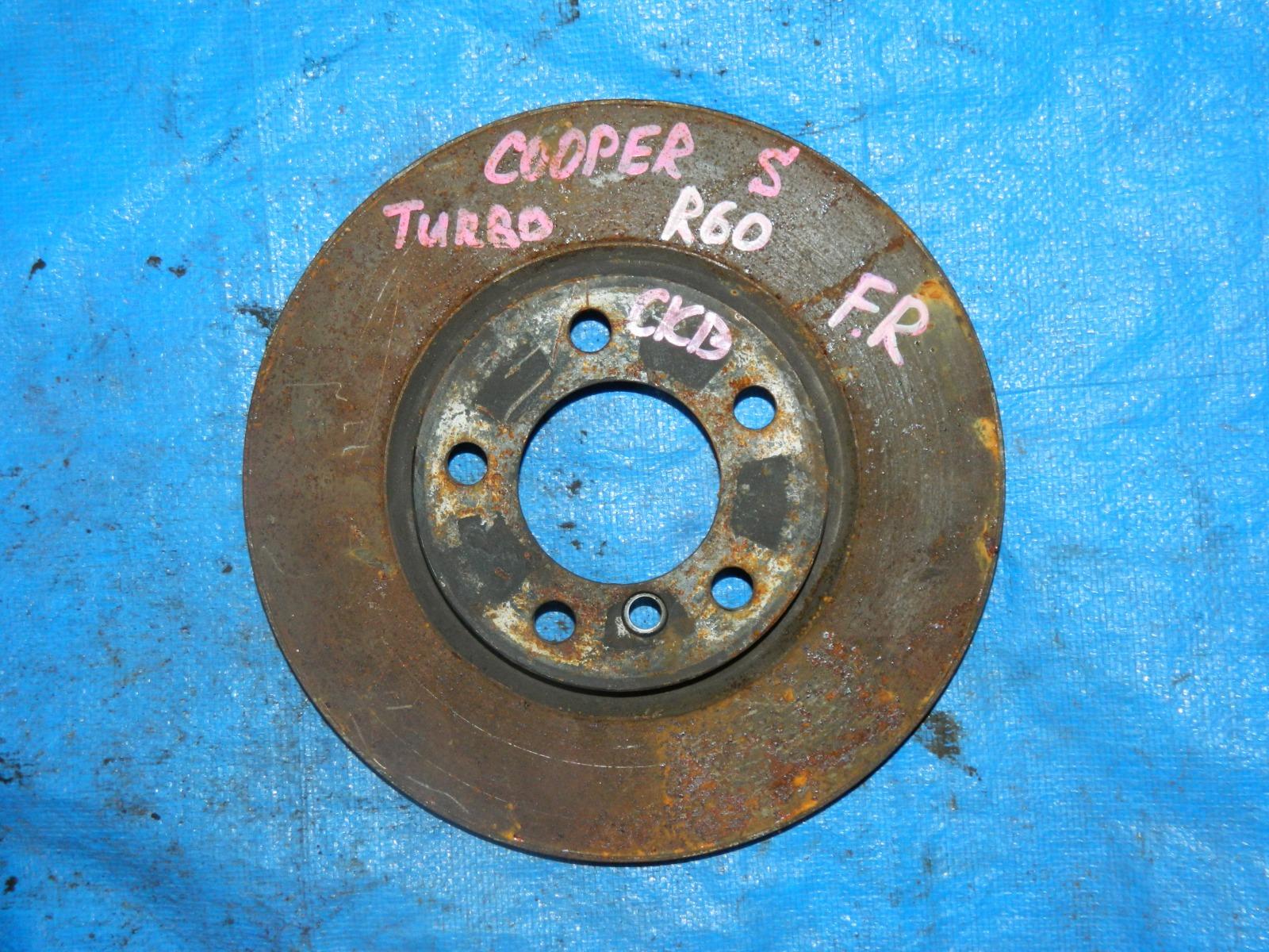 Тормозной диск Mini Cooper S R60 передний (б/у)