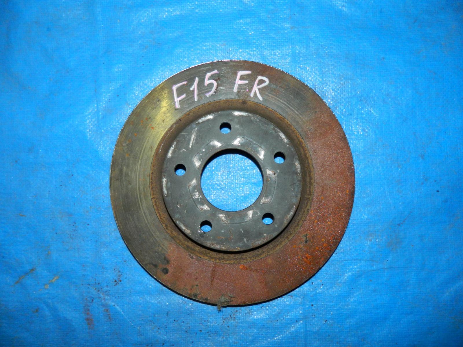 Тормозной диск Nissan Juke F15 передний (б/у)