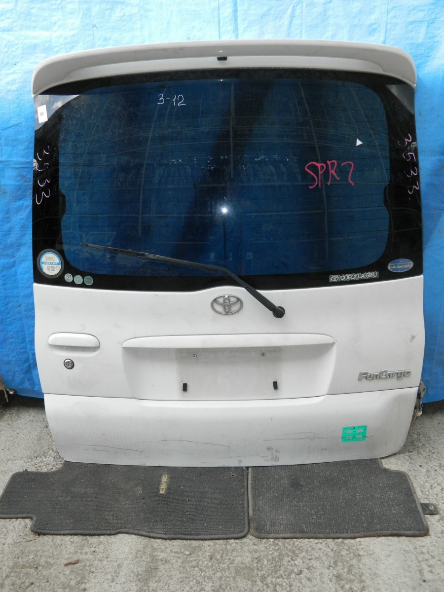 Дверь 5-я Toyota Funcargo NCP21 (б/у)